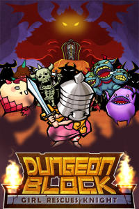 Dungeon Block: Girl Rescues Knight! by gameday Inc. screenshot