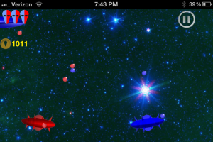 Achroma - Colorful Space Invasion Shooter by SulliOS screenshot