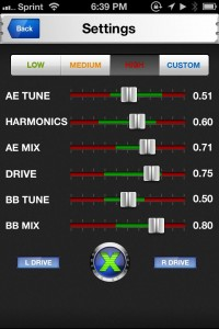 Audio Xciter Studio by Aphex screenshot