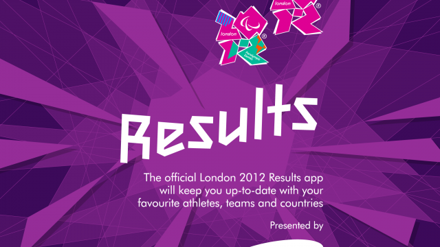 Don't Be Left Out Of The Olympic Action With London 2012: Official Results App