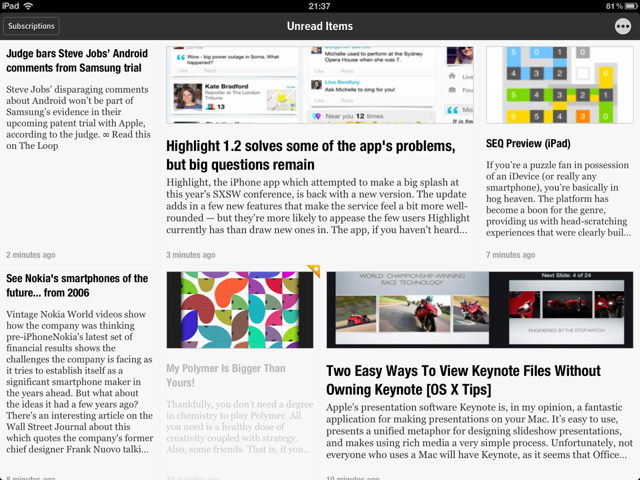 Feed Your Need For RSS Feeds All Day And All Night With Newsify's New Night Mode