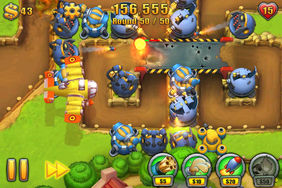 Fieldrunners 2: The Holy Grail Of Tower Defense Games