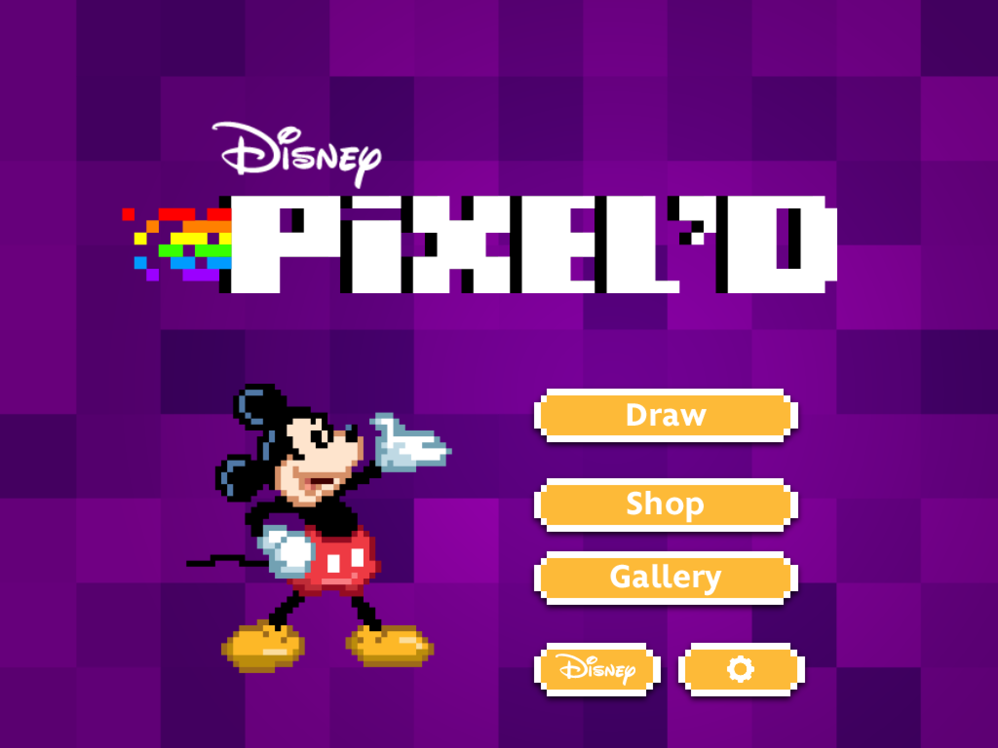 Excel At Pixel Art And Animation With Disney's Pixel'd