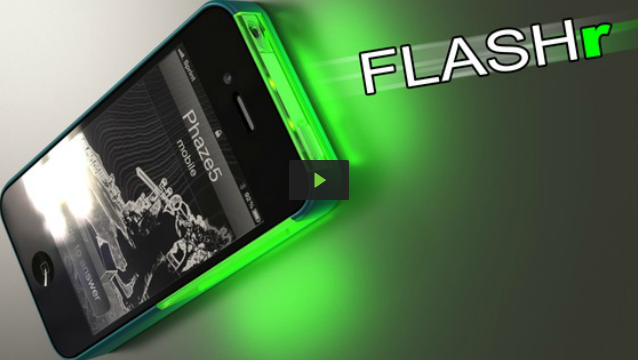 Kickstarter: FLASHr - Never Miss A Notification Again