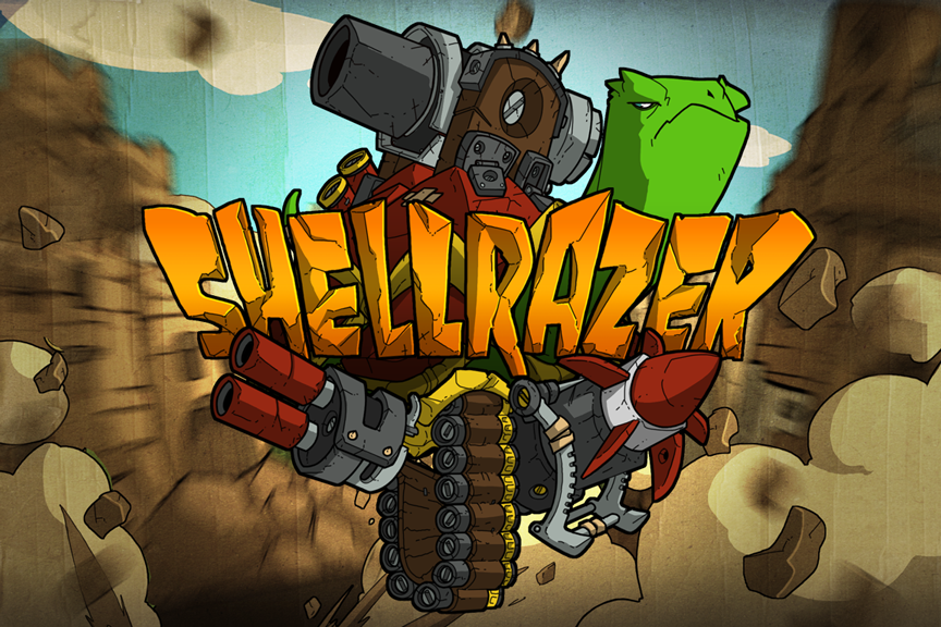 Go Into Battle On The Back Of A Turtle In Side-Scrolling Shooter Shellrazer