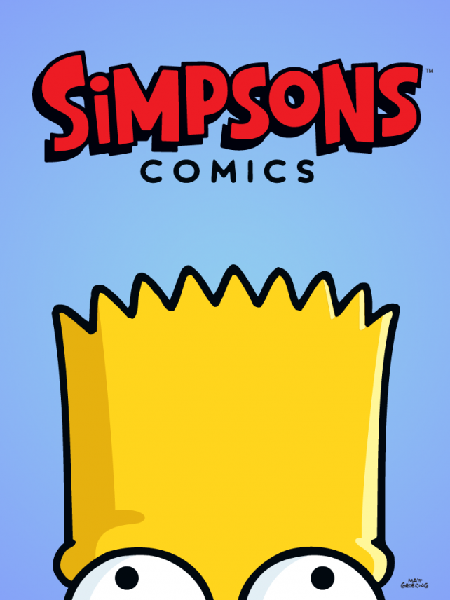 Whoa, Mama! Simpsons Comics By ComiXology Sure Has A Lot Of Issues