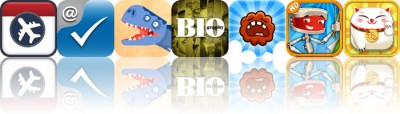 Today's Apps Gone Free: Flight2Cal, Affix, Piece Me Dinosaurs And More