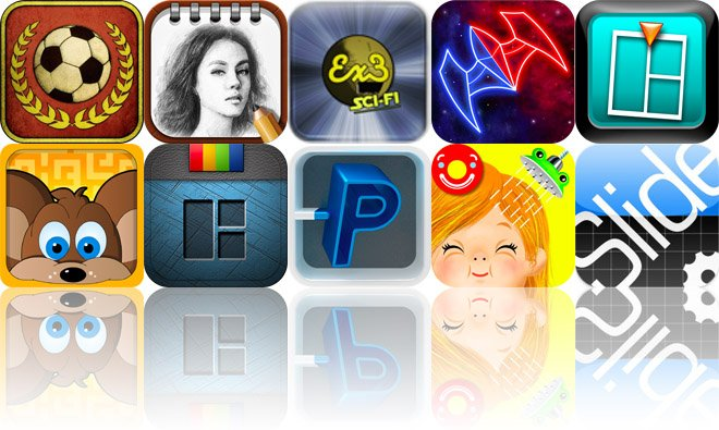 Today's Apps Gone Free: Flick Kick Football, PowerSketch, Triple Entendre SciFi And More
