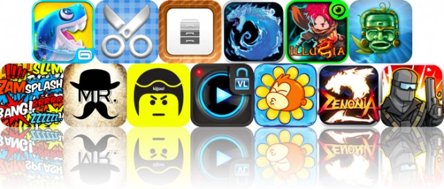 Today's Apps Gone Free: Shark Dash, Scrap It HD, Awesome Files And More
