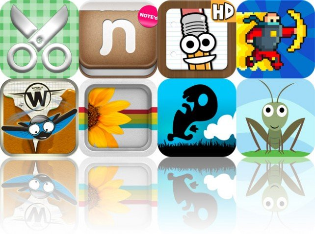 Today's Apps Gone Free: Scrap It: Summer Time HD, Note'd, Save The Pencil HD And More