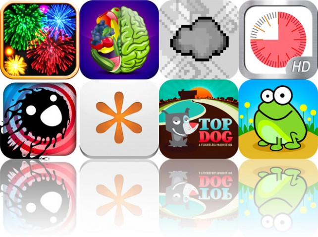 Today's Apps Gone Free: Real Fireworks Artwork, Super Diet Genius, A Little Turbulence And More