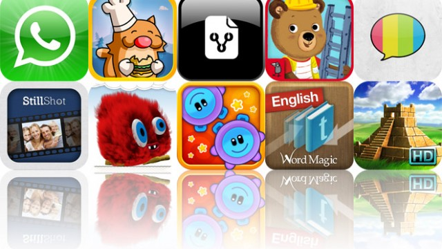 Today's Apps Gone Free: WhatsApp Messenger, Burger Cat, Illustrator And More
