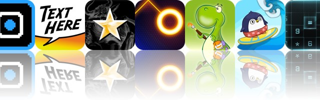 Today's Apps Gone Free: Squarescape, Text Here, Milky Way: Sky Map And More