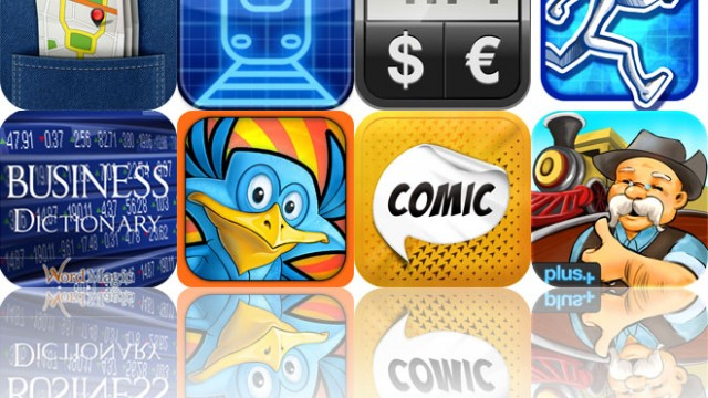 Today's Apps Gone Free: City Maps 2Go, ElectroTrains, Currency Converter HD And More