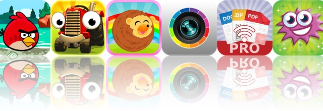 Today's Apps Gone Free: Angry Birds Seasons, Tractor Trails, Rollerhog And More