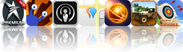 Today's Apps Gone Free: Star Trainer Premium, Snail Break, PodCruncher And More