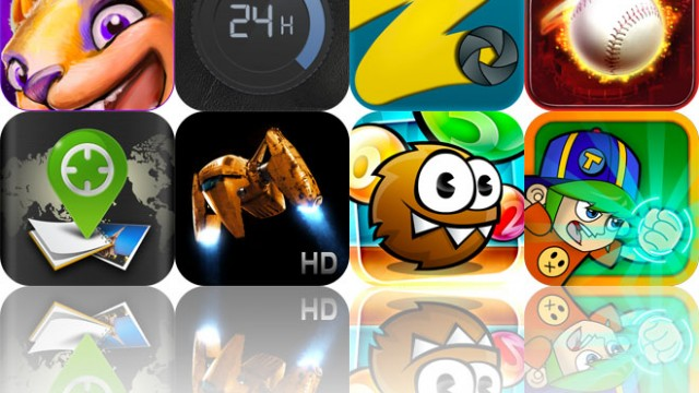Today's Apps Gone Free: CreaVures, Daily Agenda, FreezePaint And More