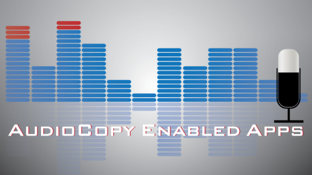 Updated AppList: AudioCopy Enabled Apps