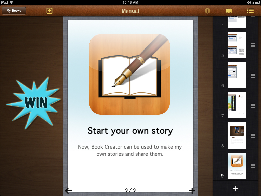 A Chance To Win A Book Writer Promo Code For iPad, iPhone And iPod Touch