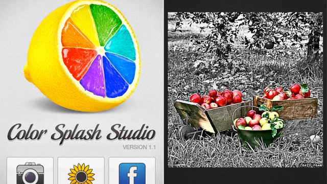 Get A Free Copy Of Color Splash Studio For Mac Just For Owning The iPhone Version