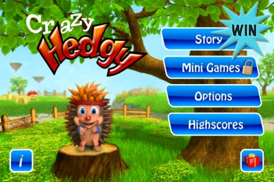 A Chance To Win Crazy Hedgy For iPhone And iPad