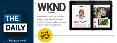 The Daily, Despite Reports Of Its Possible Demise, Introduces WKND Magazine For New Readers