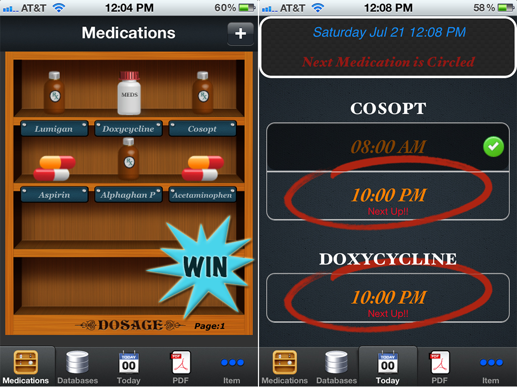 Manage Your Medicine Cabinet By Winning A Dosage Promo Code For iPhone