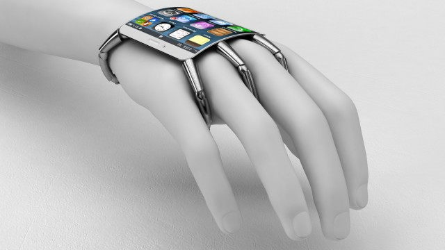 Creepy Wearable iPhone Mockup Is Creepy