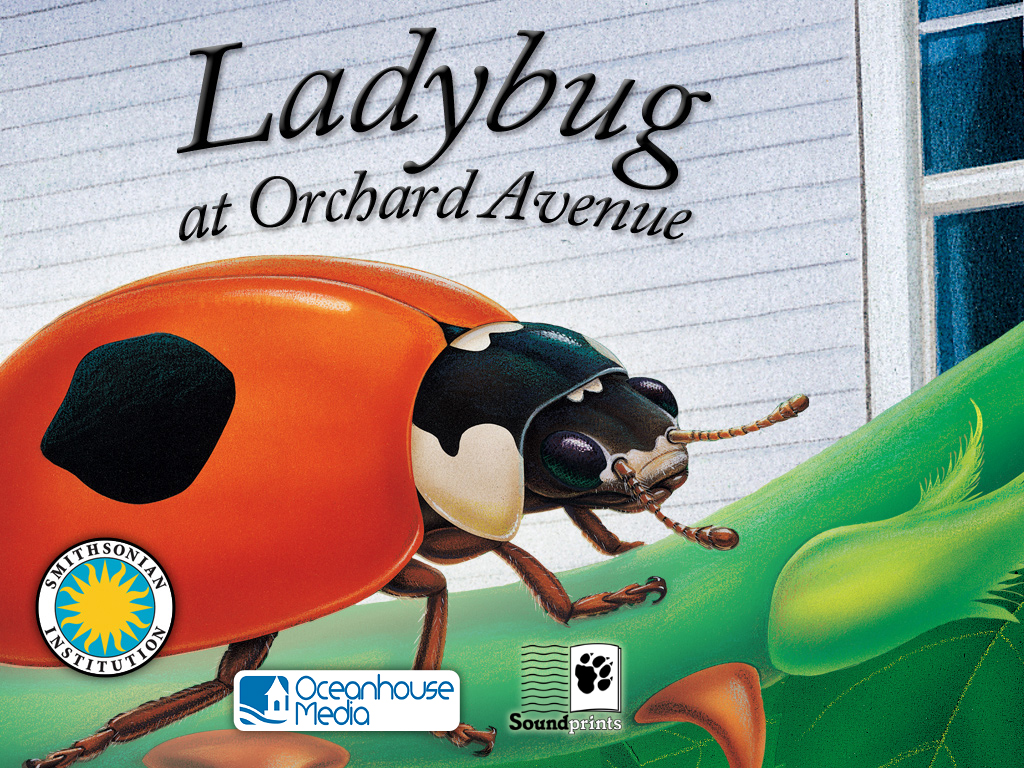 Experience Two New Smithsonian OmBooks, Ladybug At Orchard Avenue And Otter On His Own
