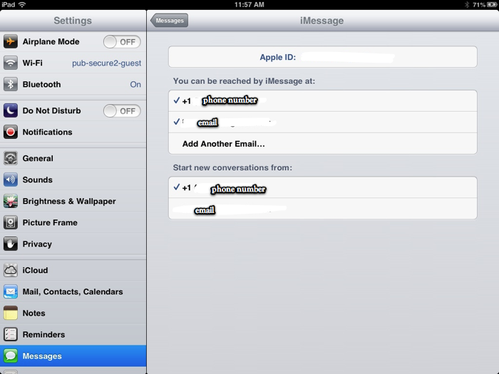 Messages App - iOS 6