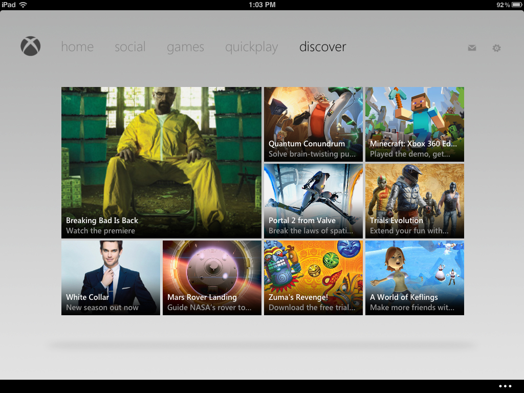 Microsoft Listens To Users And Updates The iPad Side Of The My Xbox Live App