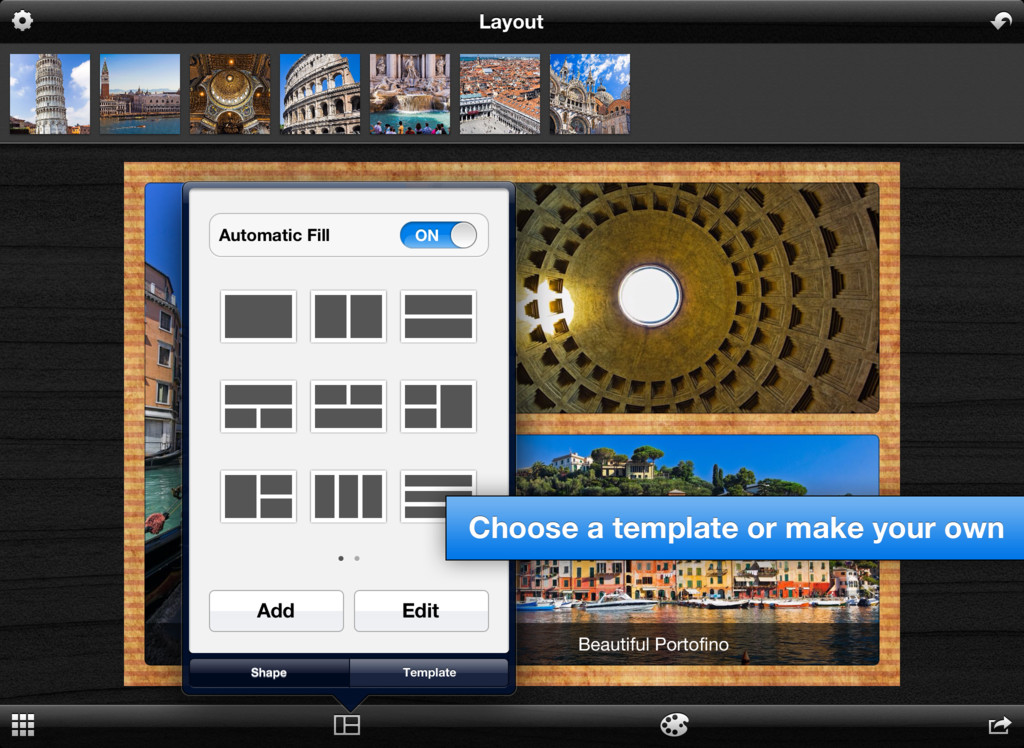 Layout Lets You Lay Out A Story With Your Photos