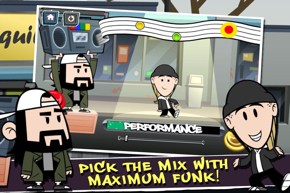 Jay And Silent Bob Have A New Hangout: Your iDevice