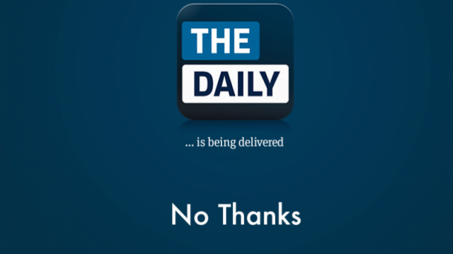 Murdoch's The Daily Could Be Kaput By Fall