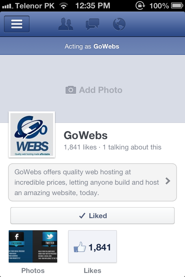 Facebook Testing Out New Fan Page Interface For Mobile Web?