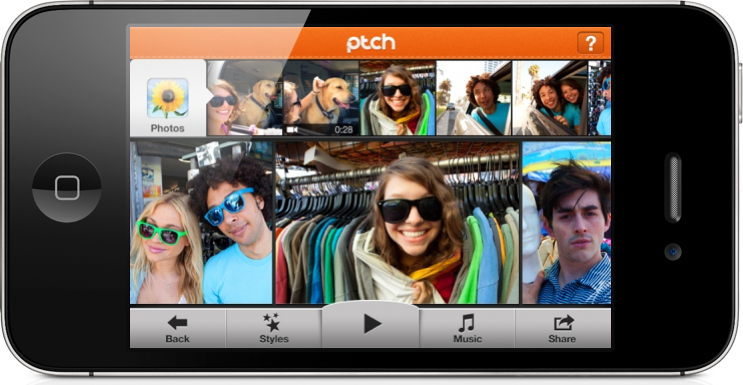 Ptch Shares Your Most Important And Carefree Moments, 60 Seconds At A Time