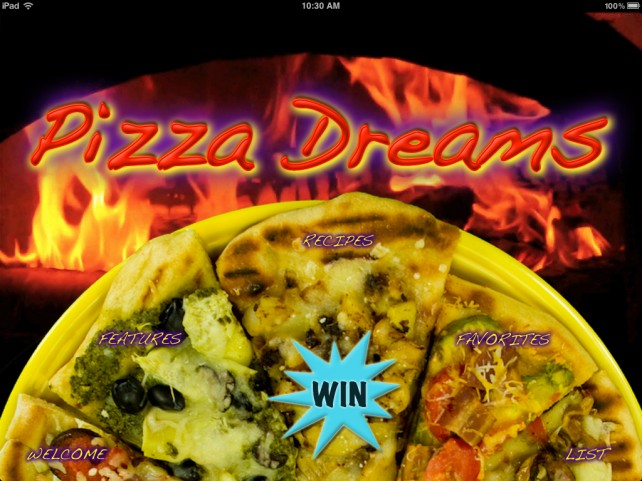 A Chance To Win A Pizza Dreams Promo Code For iPad