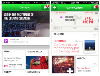 PlayUp App Lets Fans Enjoy The Olympics In A New Fun Way