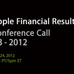 Apple's Q3 2012 Earnings Call Set For Tuesday