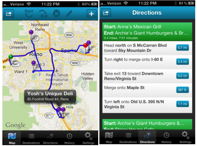 Route Update Features Ability To Add Favorite Destinations And More