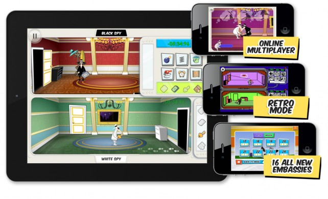 Spy Vs Spy For iOS Officially Announced, Coming Soon To The App Store
