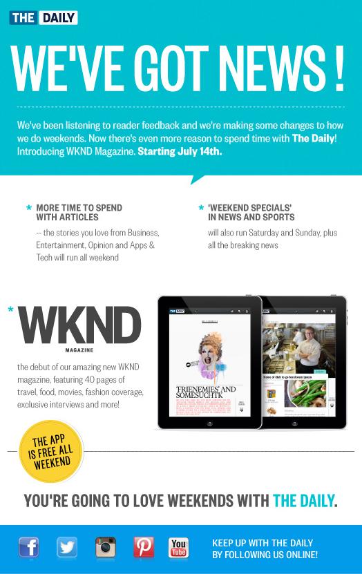 WKND Announcement