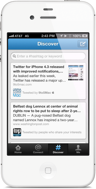 Twitter For iOS Gets Significant Update Along With New Logo