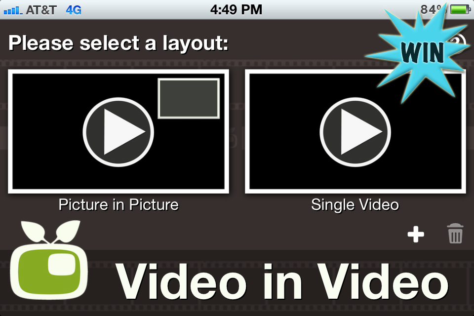 Win A $10 iTunes Gift Card To Unlock Video In Video's Pro Package
