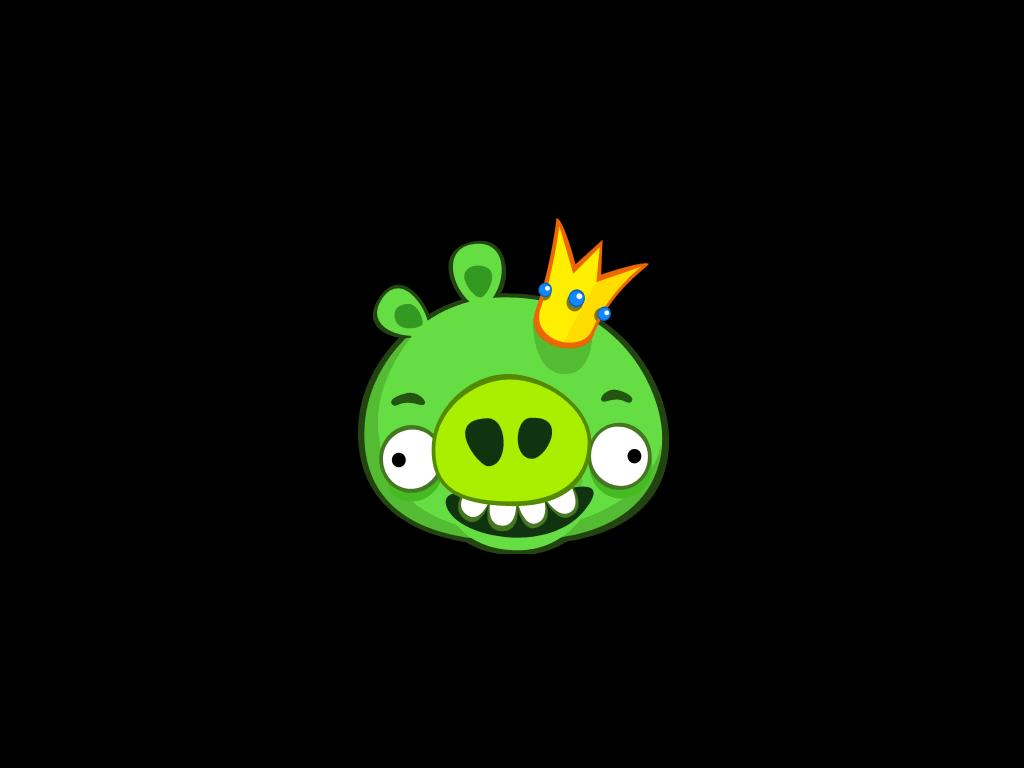 There's A New Angry Birds HD Mode, And Only The Almighty King Pig Holds The Key