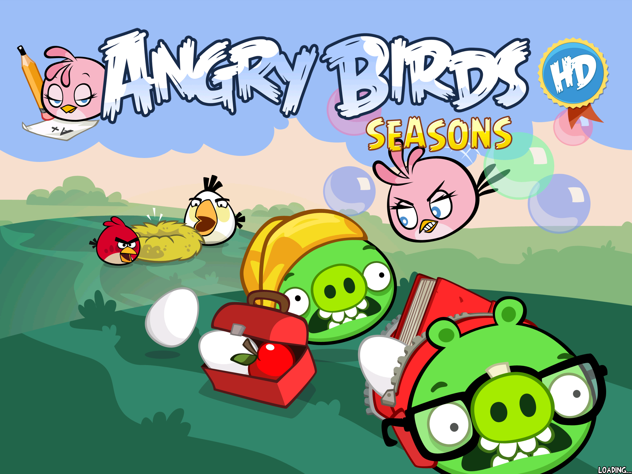 Pop Goes The Piggy, Thanks To The New Bubbly Bird In Angry Birds Seasons' Back-To-School Update