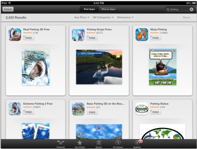 Chomp On This: iOS 6 App Store Updated With Chomp-Like Interface