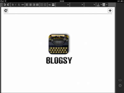 Blogsy Transforms Into A Three-Headed Beast Of A Blogging App