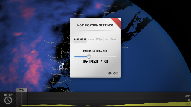 Don't Get Caught In The Rain, Get Notified By Dark Sky Instead