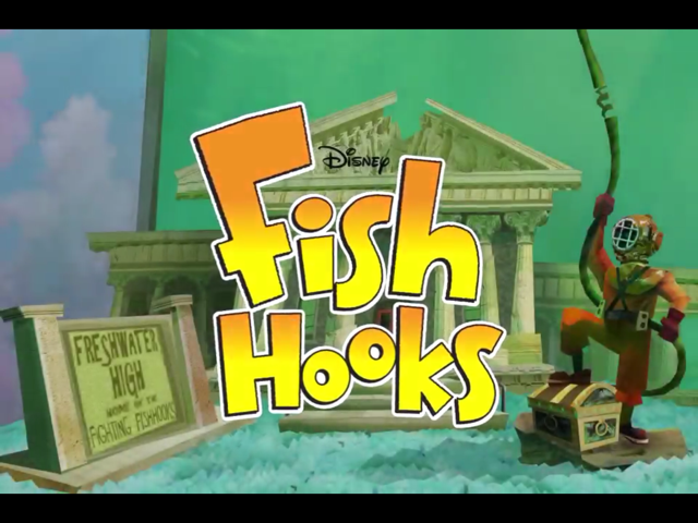 You'll Fall Hook, Line And Sinker For Disney Fish Hooks' Physics-Based Action